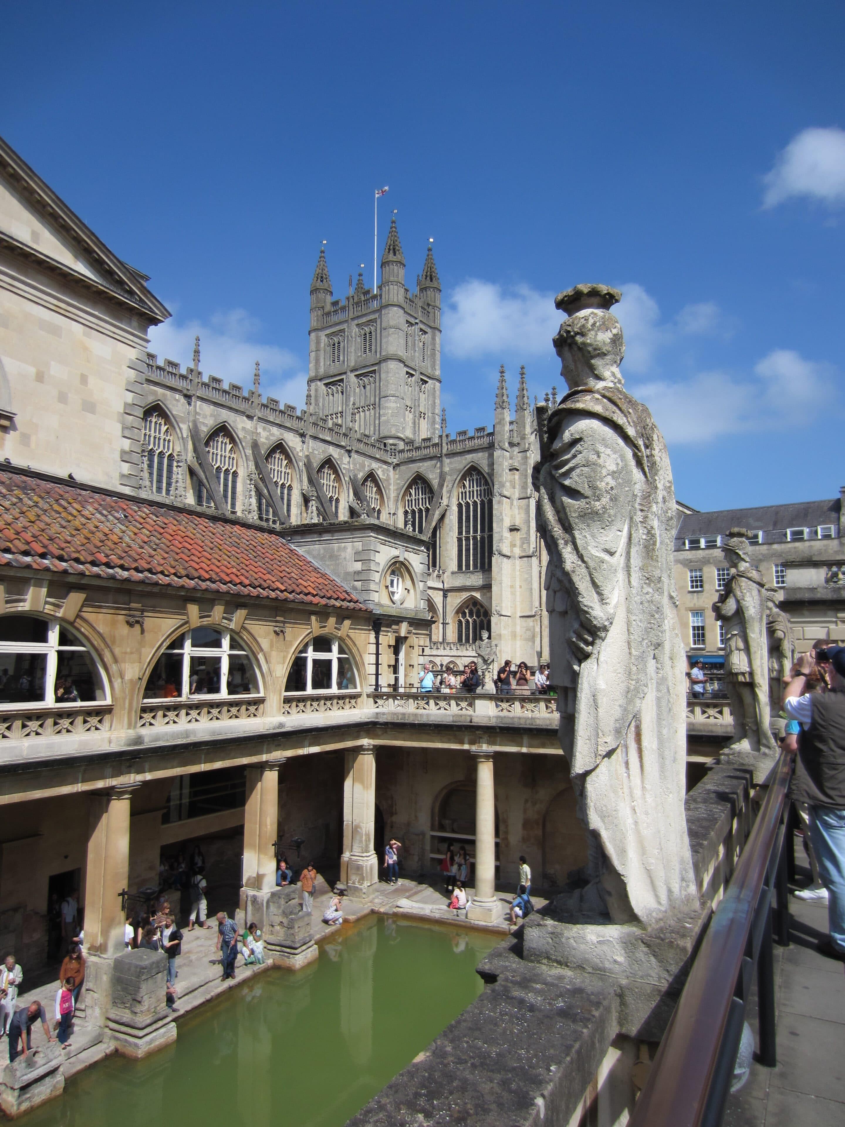 Gudomliga bad i Bath