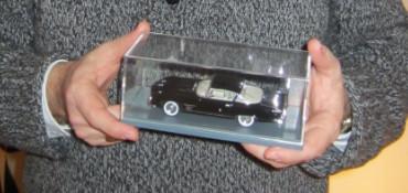 Chrysler Dual Ghia L6.4 med specialkaross är en av favoriterna i modellsamlingen. Foto: Maria Lindberg Howard