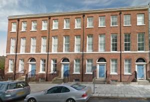 Familjen Ellis byggdes bostadshusen på Nelson Street