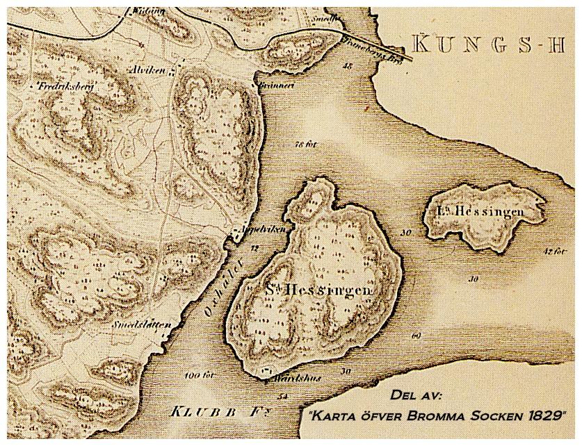 Essingeöarna – Plats för entreprenörer och en eremit