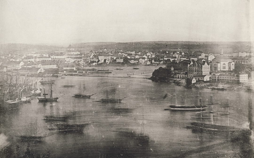 De tog de första dagerrotyperna av Stockholm