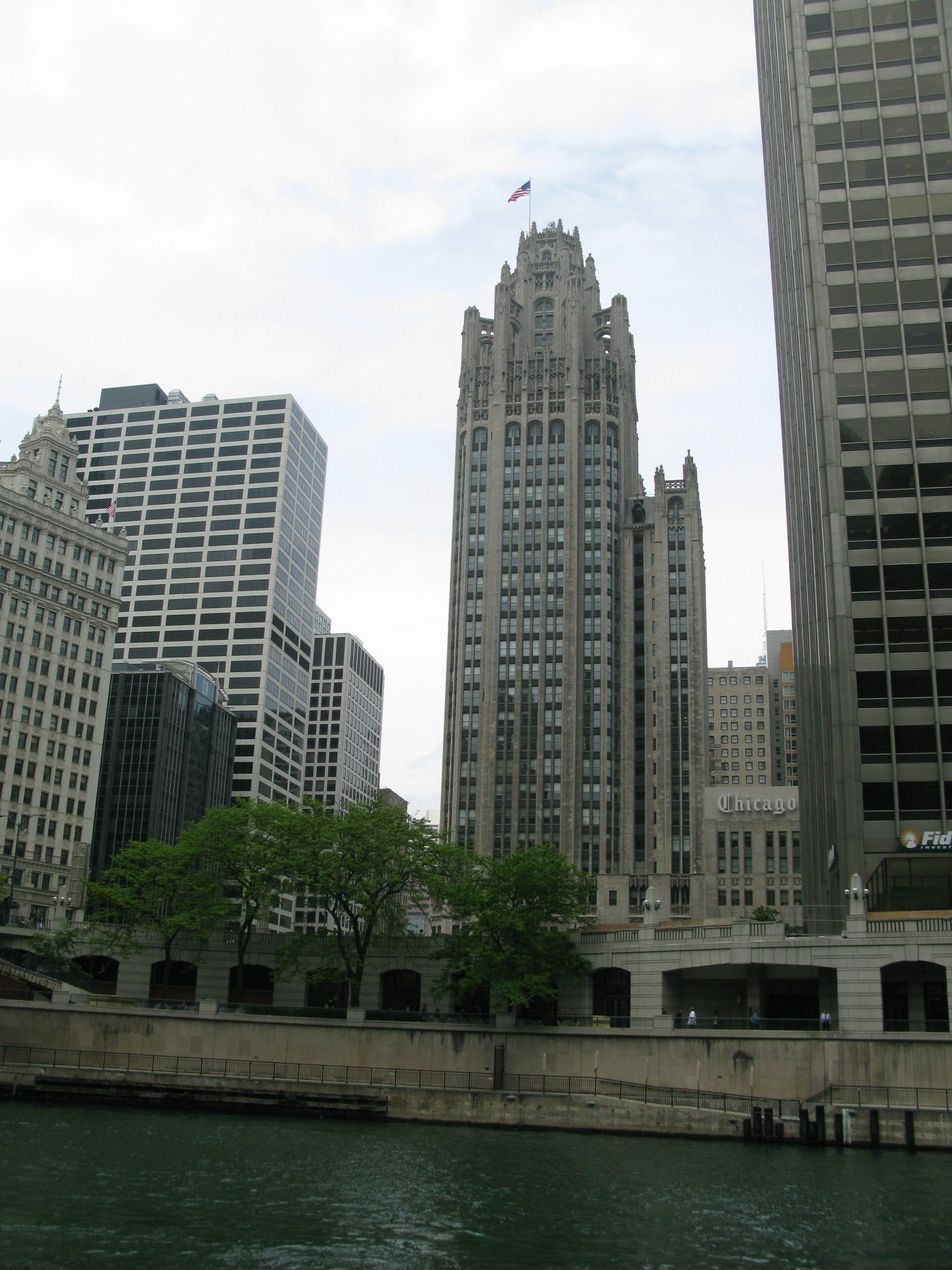 Skönhet så högt ögat når i Chicago