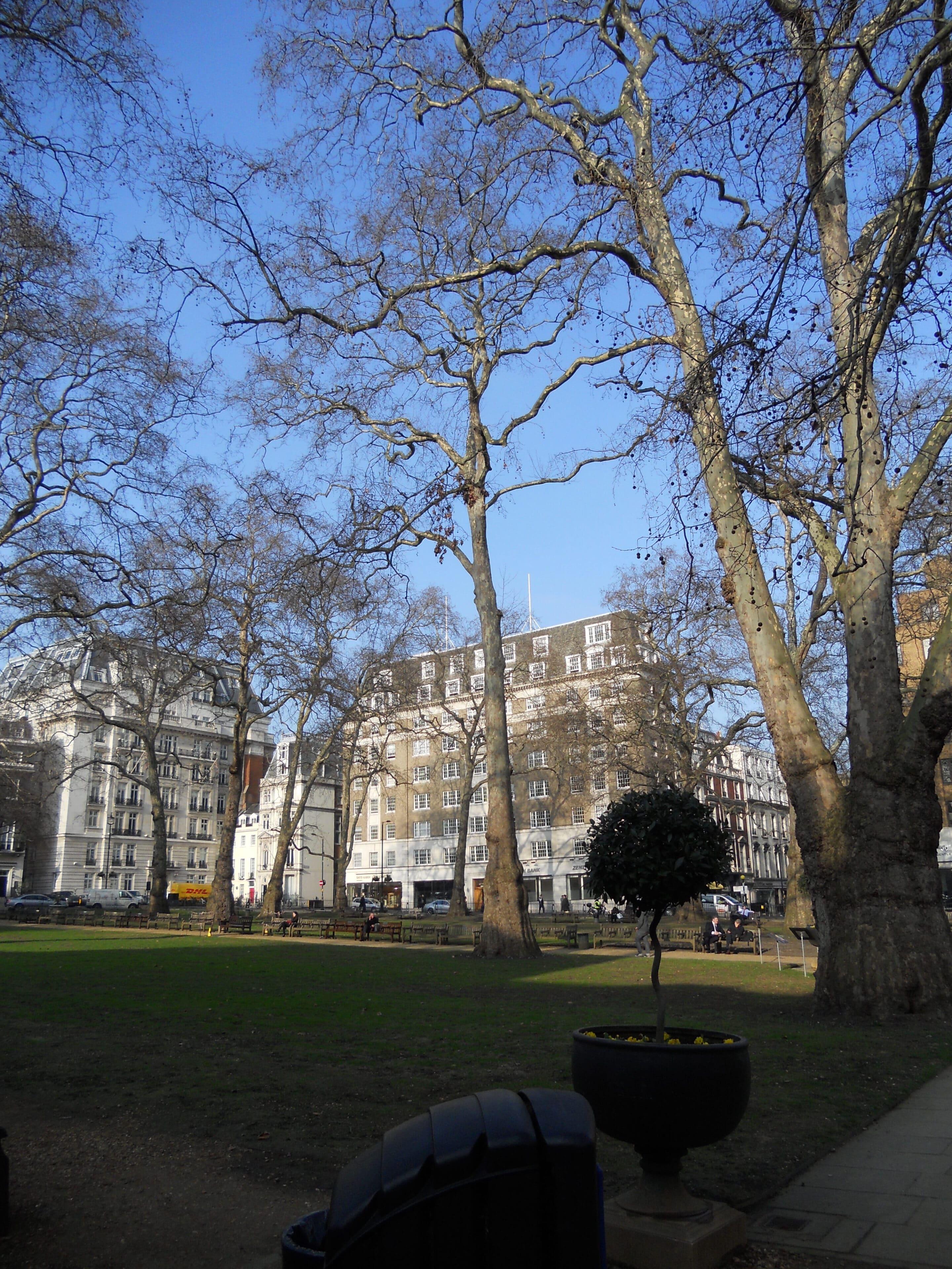 Spöken och näktergalar i Berkeley Square i London