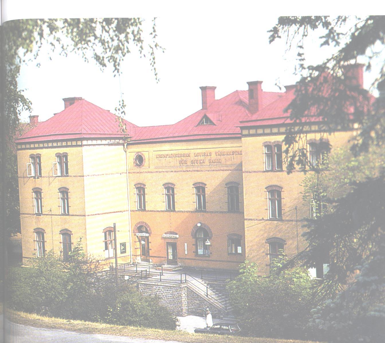 Fattigläkare tog initiativ till Kronprinsessan Lovisas barnsjukhus