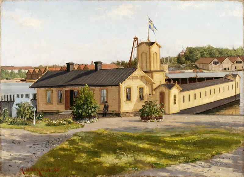 Flottans badhus på Skeppsholmen