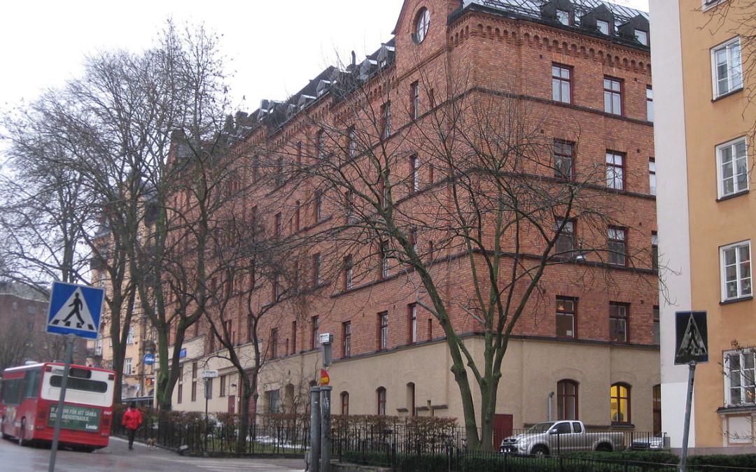 Tegeltraven – ett ovanligt bostadshus på Kungsholmen