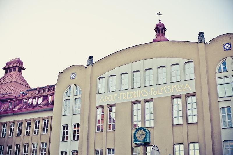 Adolf Fredriks skola – Plugg med tongivande fasad