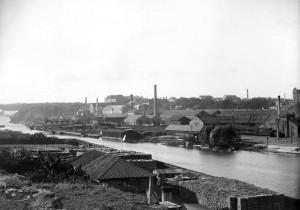 Rörstrands porslinsfabrik 1896 (foto okänd, SSM)