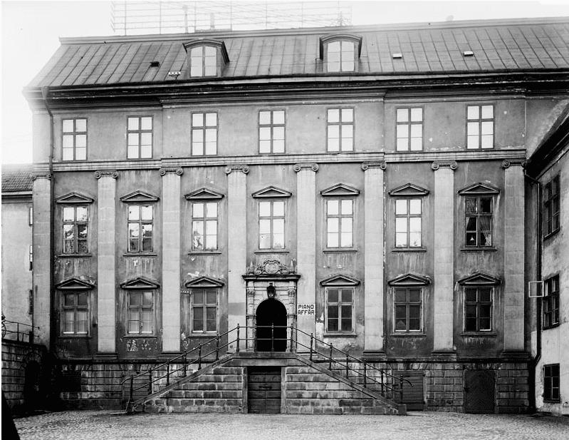 Södermalms första palats – från änkesäte till ambassad