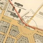 Plan för norra Karlaplan 1899