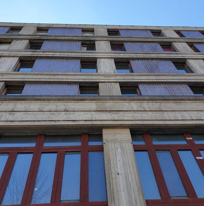 Metrohuset – annorlunda brutalism i Södertälje